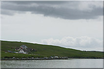 HU3666 : Sparl, Brae, from the broch at Burravoe by Mike Pennington