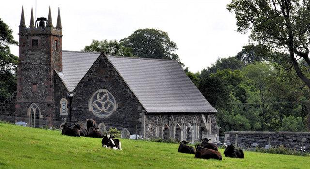 Lambeg (CoI) parish church (2)