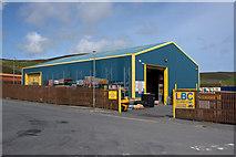 HU4642 : LBC Island Coal, Gremista Industrial Estate, Lerwick by Mike Pennington