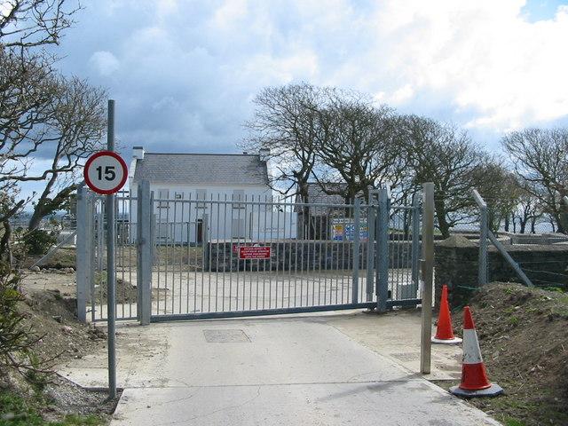 Meary Veg Sewage Treatment Works - Access