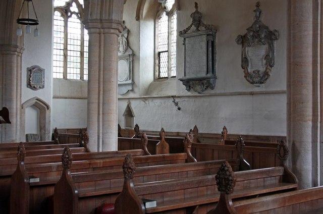 St Andrew, Ufford - Interior