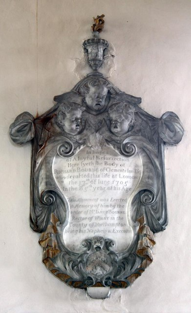 St Andrew, Ufford - Wall monument