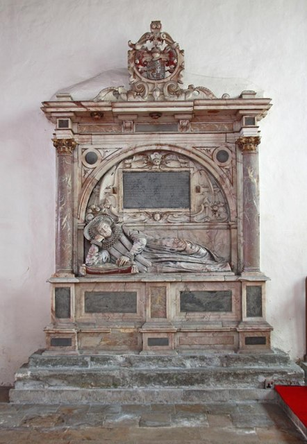 St Andrew, Ufford - Monument