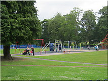 NZ2816 : Play area in North End Recreation Ground Darlington by peter robinson