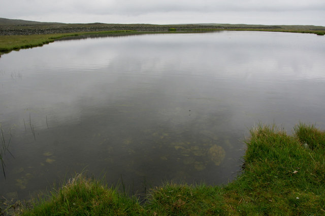 Un-named lochan north of Colvadale