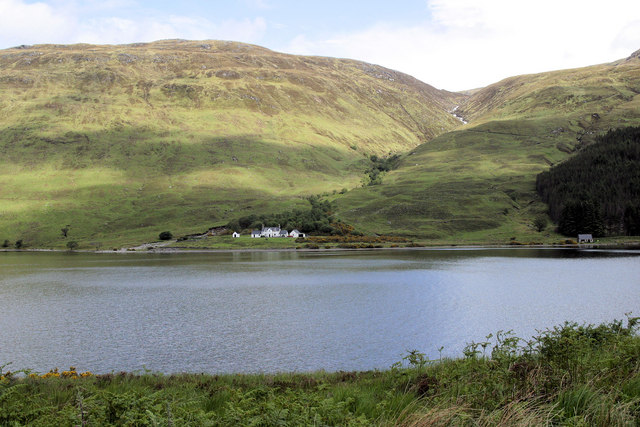 Both shores of southeastern Loch More