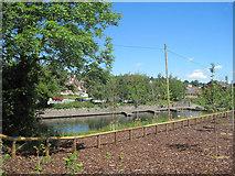 SJ2207 : Canal Wharf from Tesco car park by John Firth