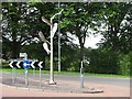 NS7152 : Sculpture on Strathaven Road by Richard Webb