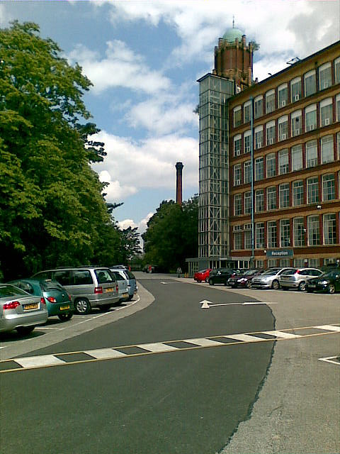 The old Broadstone Mill, Reddish