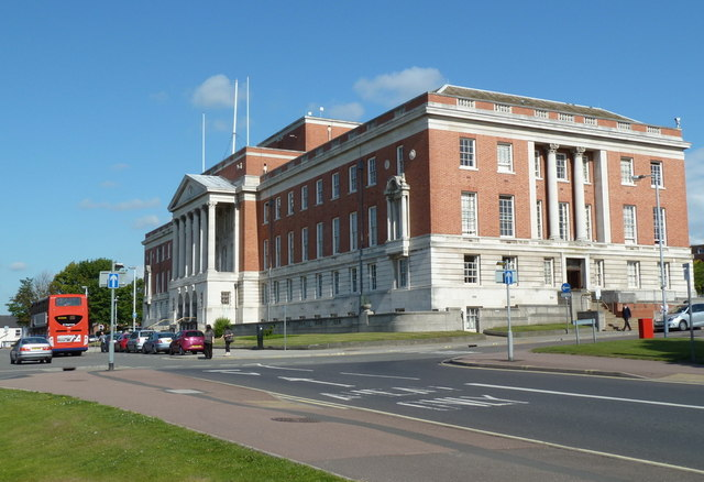 Chesterfield Borough Council offices