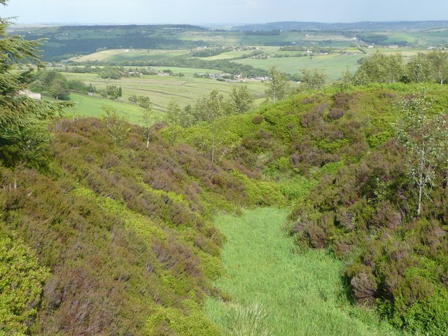 Valley at Greave Head, Soyland