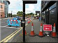 H4572 : Repairs at Drumragh Avenue, Omagh by Kenneth  Allen