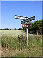 TM2660 : Roadsign on Rectory Road by Geographer