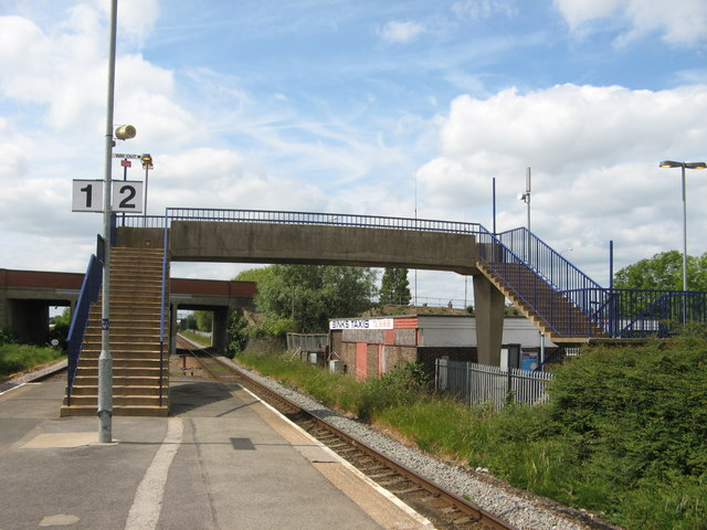 Billingham Station Footbridge