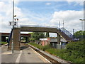 NZ4623 : Billingham Station Footbridge by Stephen Armstrong