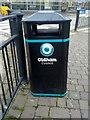 SD9205 : Bin in Oldham by Steven Haslington