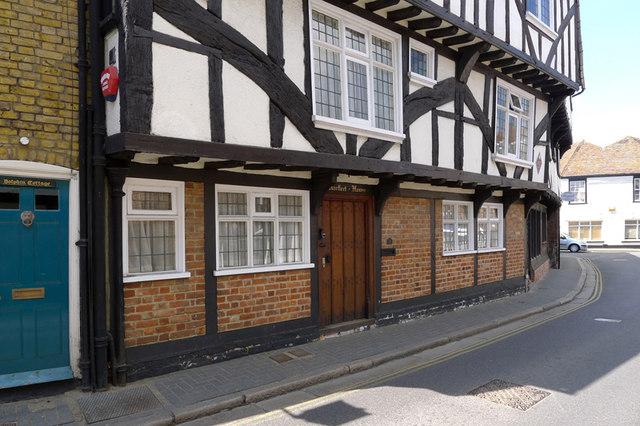 Pilgrims House, Strand Street, Sandwich