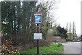 TQ7835 : Cranbrook village sign by N Chadwick