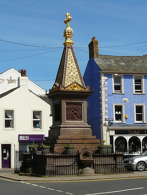 Moore Memorial Fountain, Wigton