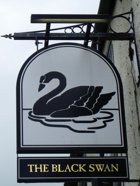 Sign for the Black Swan