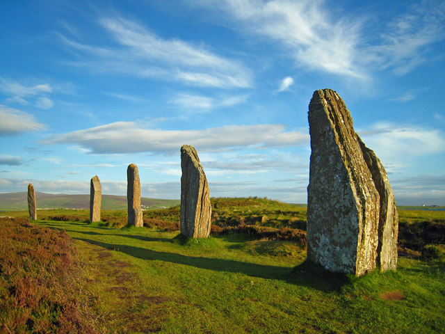 Orkney, Stenness: The Ring o' Brodgar