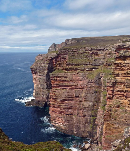 Cliffs on the west coast of Hoy, Orkney