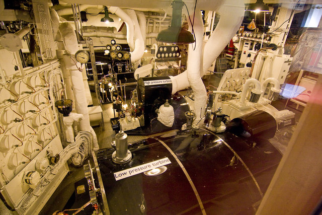 Royal Yacht Britannia Engine Room 169 Alan Findlay Cc By Sa