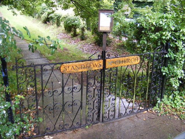 St.Andrew's Church Gates