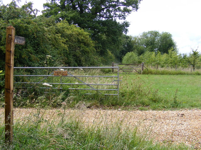 Restricted Byway at Keeling Hall
