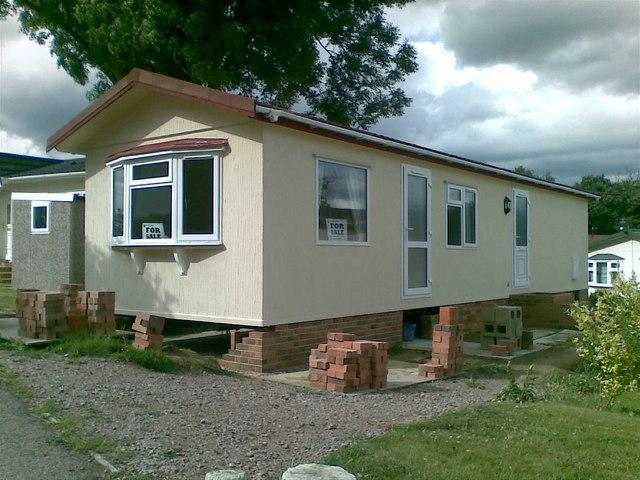 Mobile home, Temple Grove Caravan Park
