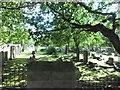 SJ3989 : Graveyard at church in Wavertree by Stephen Sweeney