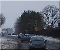 SO8463 : A4133 approaching Ombersley by N Chadwick