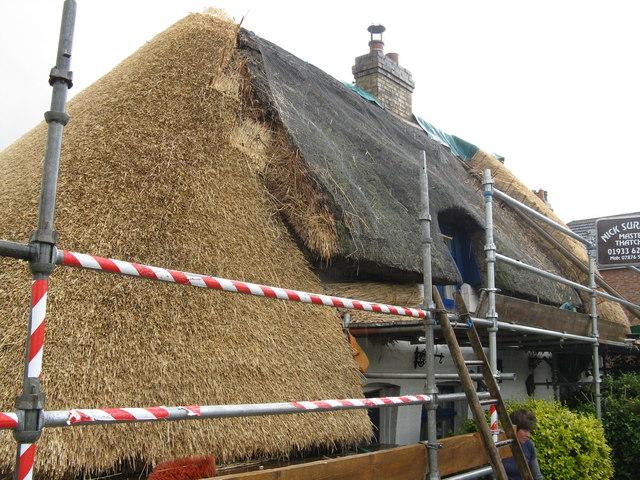 Roof repairs at Ravensden