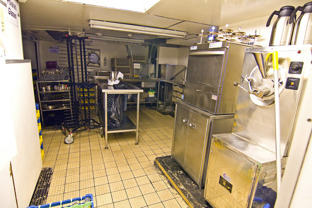 Royal Yacht Britannia, kitchen © Alan Findlay cc-by-sa/2.0 ...