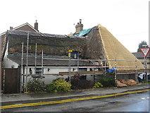 TL0654 : Roofs at Ravensden by M J Richardson