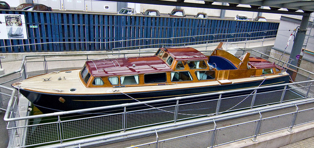 Image result for royal yacht britannia tender