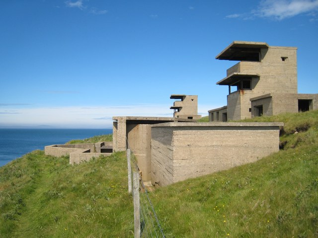 Hoxa Head: Scapa Flow defences