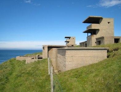 ND4093 : Hoxa Head: Scapa Flow defences by Martyn Gorman