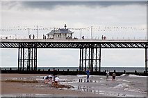 TG2142 : The middle of the pier at Cromer by Peter Facey