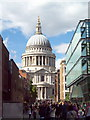 TQ3281 : North transept of St. Paul's Cathedral by nick macneill