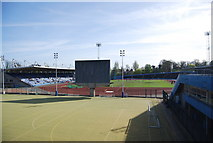 TQ3470 : National Sports Centre, Athletics Track, Crystal Palace by N Chadwick