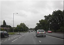 SJ8587 : A34, Kingsway by junction of Broadway by Peter Bond