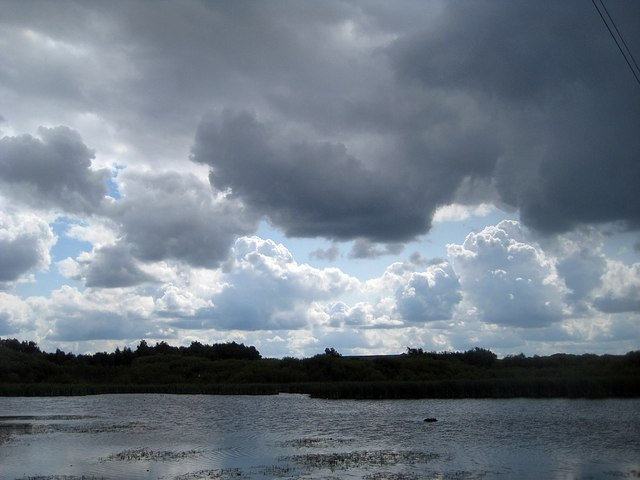 Rain clouds © Mike Kirby cc-by-sa/2.0 :: Geograph Britain ...