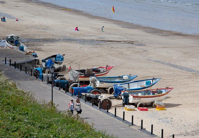 Beach and Fishing Boats at Cromer