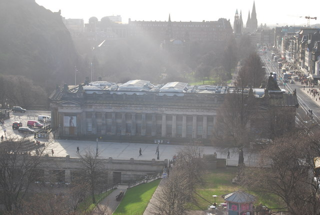 View from The Scott Monument - The National Academy