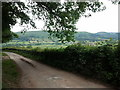 SO3219 : Lane around the Skirrid by Rob Purvis
