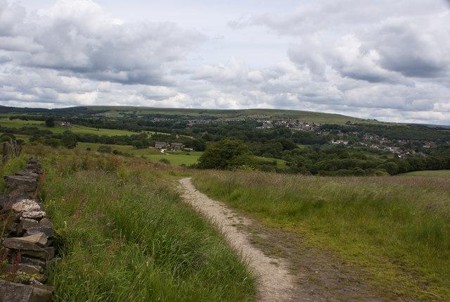 The path at Horrocks Fold