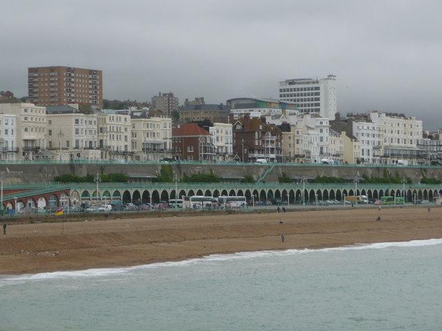 Brighton: Marine Parade from the pier