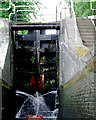 SJ8746 : Staircase lock chamber at Etruria, Stoke-on-Trent by Roger  Kidd