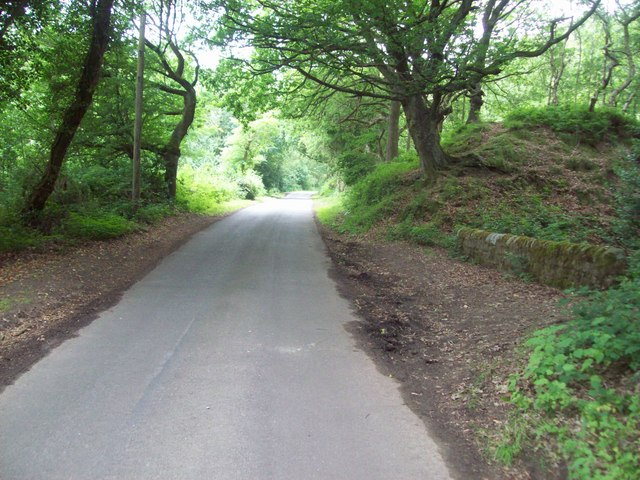 Harewood Road near Holymoorside